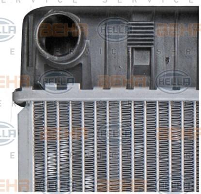 Chłodnica wody silnika HELLA 8MK 376 710-531