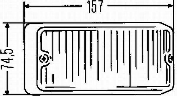 Lampa kierunkowskazu HELLA 2BA 001 275-021