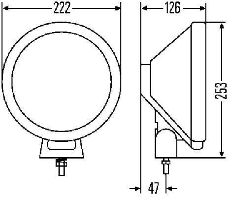 LAMPA P-MG. RALLY 3000